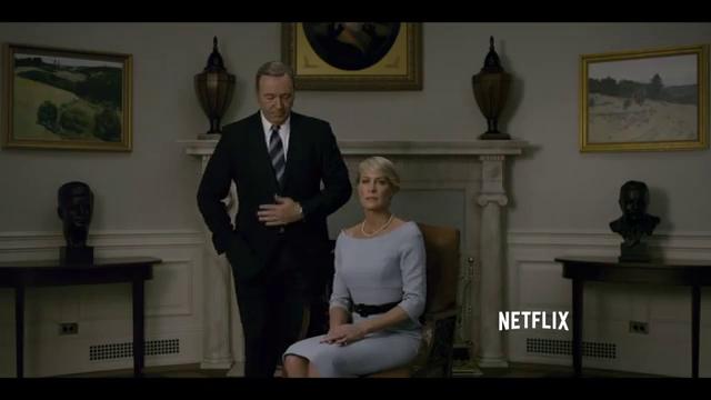 House of Cards - Season 3 - New Teaser - White House Portrait