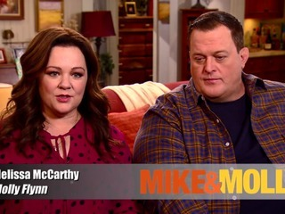 Mike and Molly: 6x01 Cops on the Rocks - Behind the Scenes